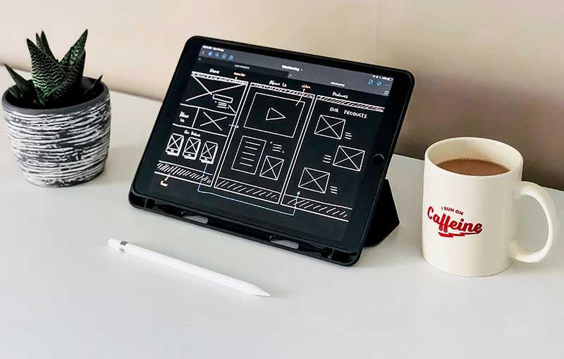 Web Design 800 x 510
