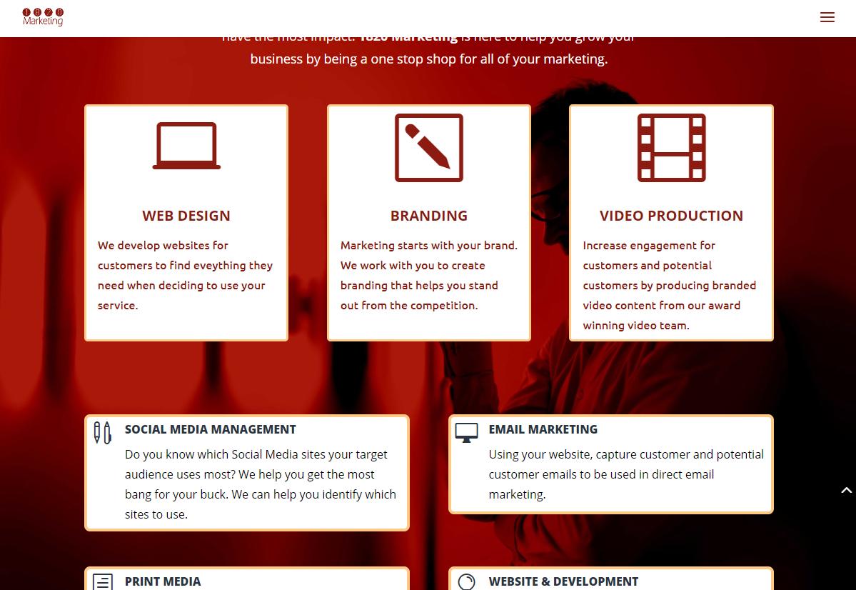 1820 Marketing Website 1199 x 826